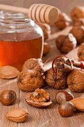 грецкие орехи и мед польза