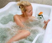 действие кислородных ванн