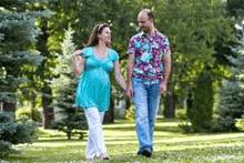 пешие прогулки беременных