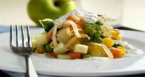 порция салат овощной