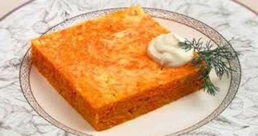 запеканка-с-морковью