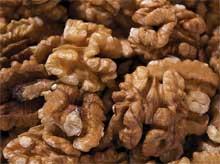 очищенных грецких орехов