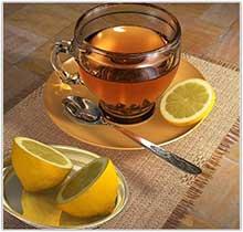 Теплый-чай-с-лимоном