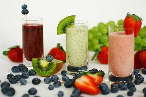 смузи фруктовый коктейль