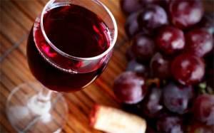 Польза красного виноградного вина