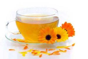 Чай с семенами моркови и календулой для печени
