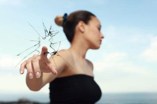 удалить стекло из раны